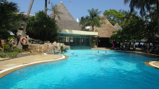 Severin Sea Lodge: einer der beiden Pools