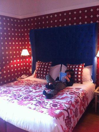 Room Mate Luca: Habitación familiar preciosa!!