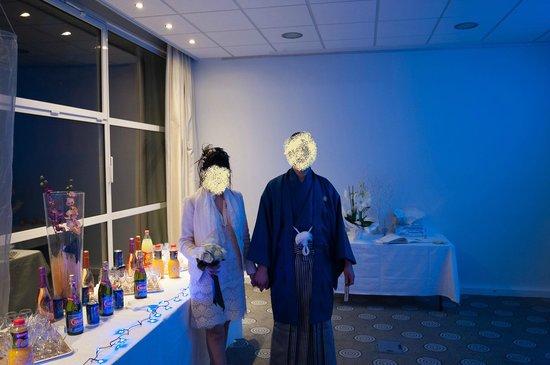 Mercure Annecy Sud: Notre table de mariage