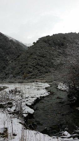 Songtsam Meili Hotel: 1st snowfall
