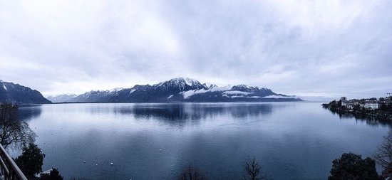 Hotel Royal Plaza Montreux : Room view!