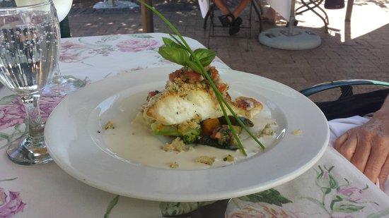 The Avontuur Estate Restaurant : Fischmenue