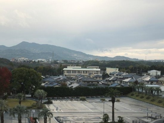 Kikunan Onsen Ubl Hotel: View from room overlooking spa complex