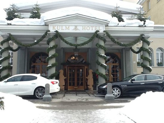 Kulm Hotel St. Moritz: Top of Kulm