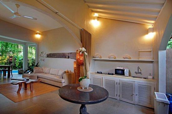 The Lodek Villas : Livingroom