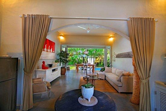 The Lodek Villas : living room
