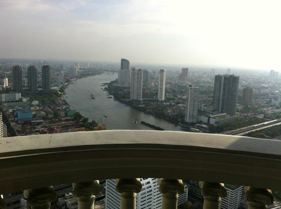 lebua at State Tower: Vista do Quarto