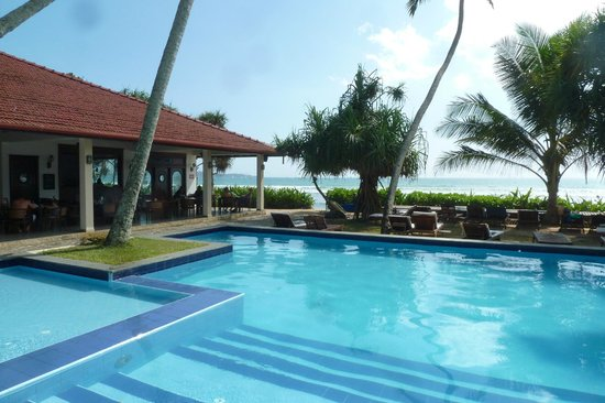 Weligama Bay Resort: Rest and Pool