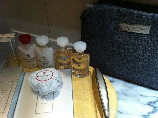 lebua at State Tower: Amenities Bvlgari