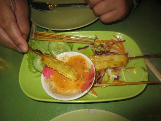Green Bird: Chicken Satay