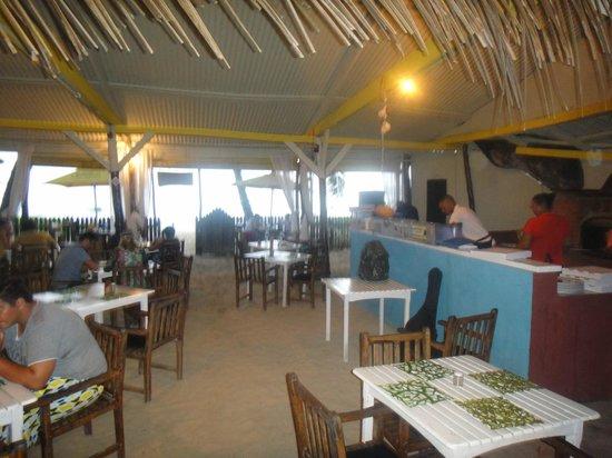 Kaz Kreol Restaurant & Beach Club: view from the restaurant