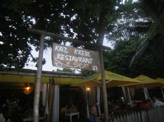 Kaz Kreol Restaurant & Beach Club: inside the restaurant 3