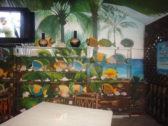 Kaz Kreol Restaurant & Beach Club: Inside the restaurante 1