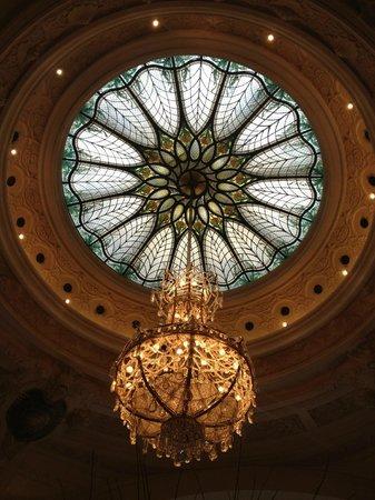 Hotel De Paris: lobby