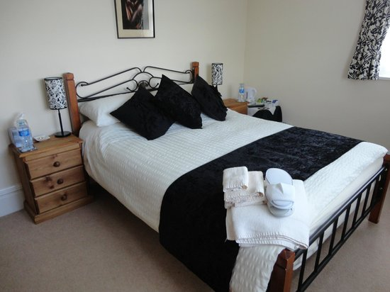 Tudor Rose Bed and Breakfast: BLACK ROOM