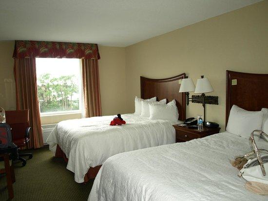 Hampton Inn & Suites Stuart-North : our room