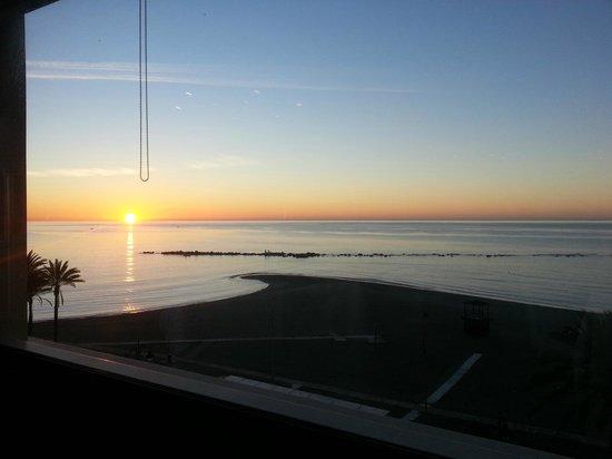 Vincci Seleccion Aleysa Hotel Boutique & Spa : Sunrise view from the restaurant