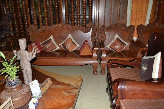 Shining Angkor Boutique Hotel : Холл