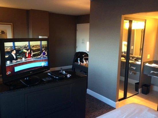 Hyatt Regency Dulles : Nice lay out of room