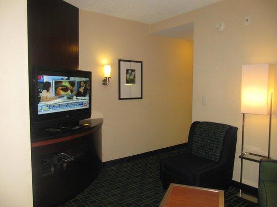 Fairfield Inn & Suites Baltimore Downtown/Inner Harbor: sitting area