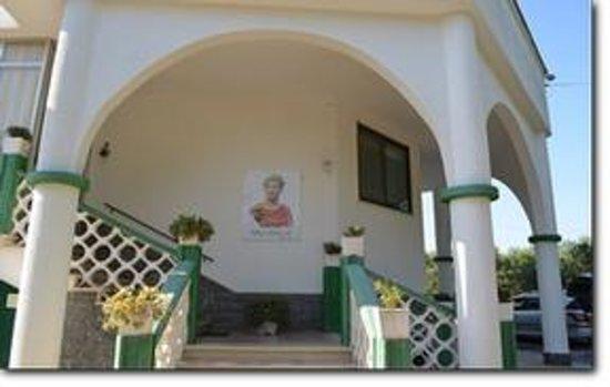 Arco di Federico: Esterno