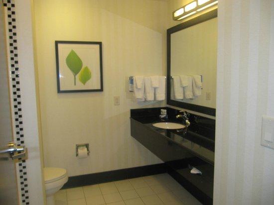Fairfield Inn & Suites Baltimore Downtown/Inner Harbor : bathroom