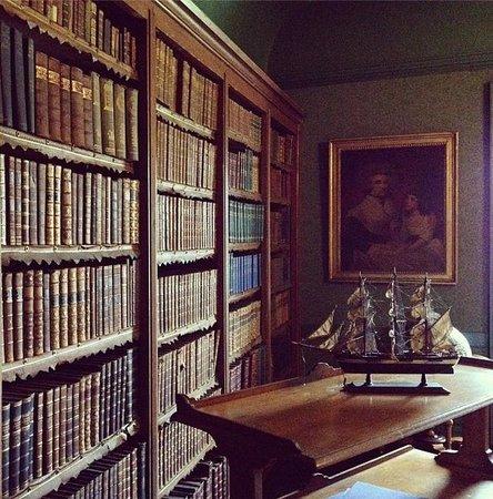 Delgatie Castle : библиотека