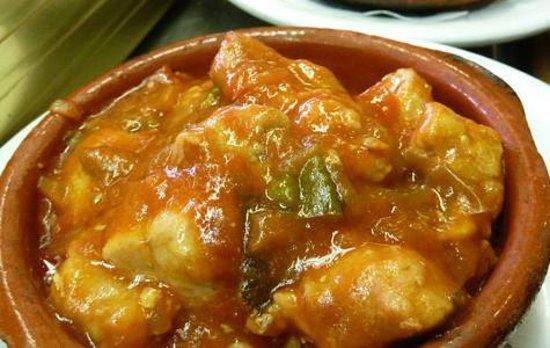 Meson Lo Gueno : Magro con tomates en Lo Güeno