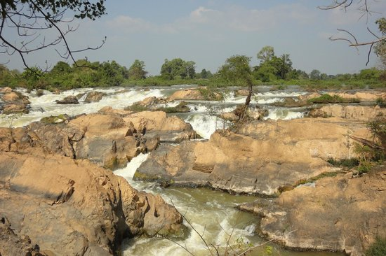 Don Khone, Laos: Tat Somphamit Waterfalls