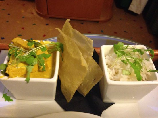 Radisson Blu Hotel, Leeds : Chicken curry