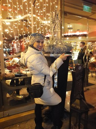 Vaci Street: Новый год - 2014 - на ул.Ваци