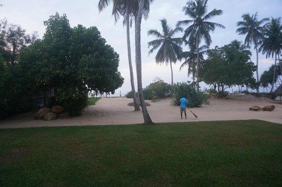 Serein Beach Hotel: View from ground floor room