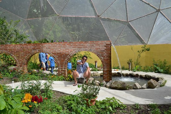 Hotel Reserva Natural Atitlan: The newly opened Butterfly Sanctuary