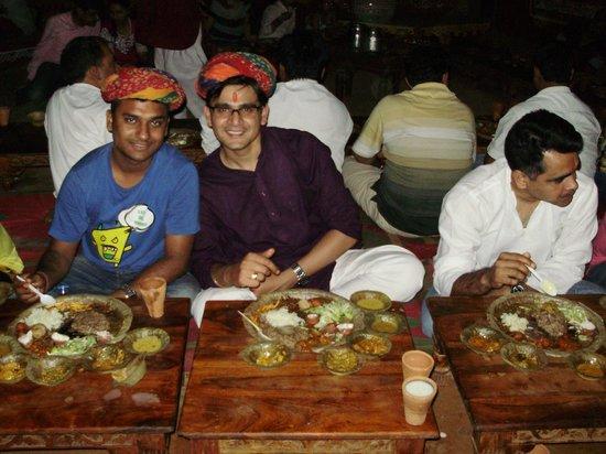 Chokhi Dhani Resort: Surrendering to scrumptious thali at Village!