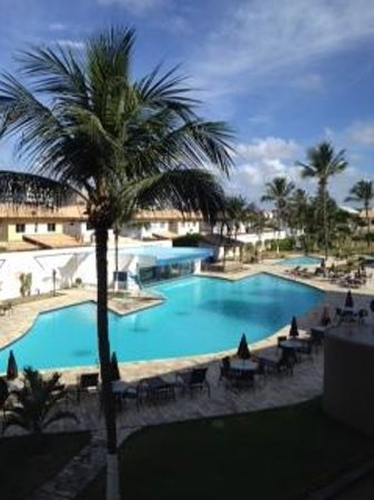 Del Mar Hotel: Vista da piscina
