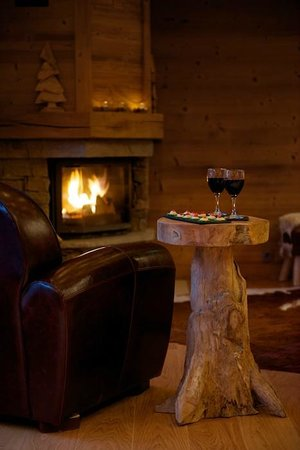 Mountain Spaces - Blue Bird Lodge : Canapes and wine