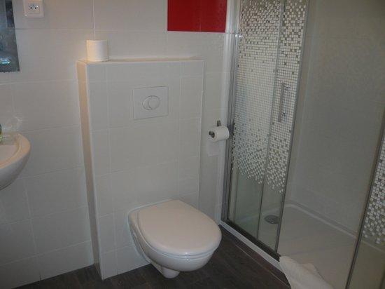 Hotel Parisien: salle de bain