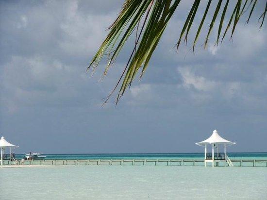 Cinnamon Hakuraa Huraa Maldives: View from the beach