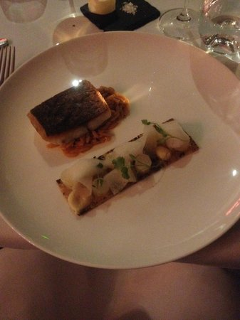 South Lodge Hotel : Main course - Stone Bass
