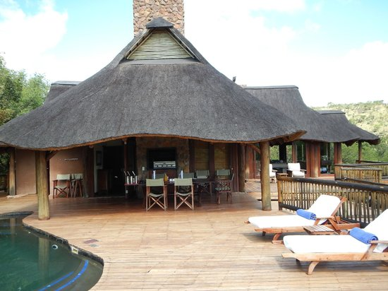 Tshwene Lodge: Dining area