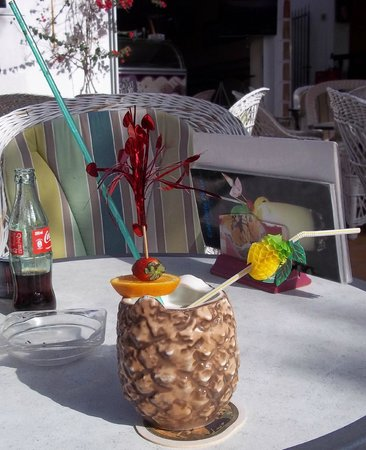 Hotel Cala Ferrera: Cocktail at a bar in Cala d'Or