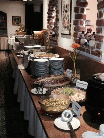 Hotel Alpin: ресторан 2