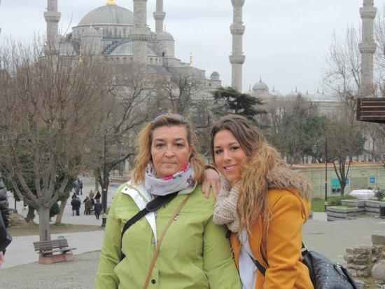 Orient Mintur Hotel - Istanbul: Mequita Azul
