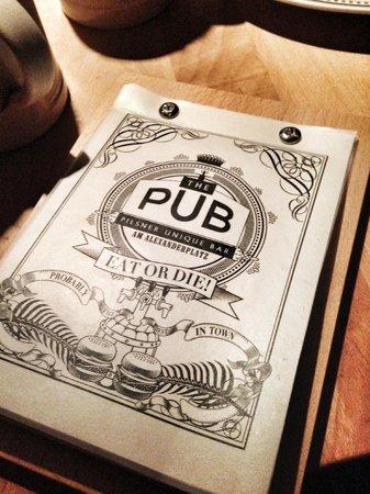 The Pub: Cooles Design - noch besseres Essen