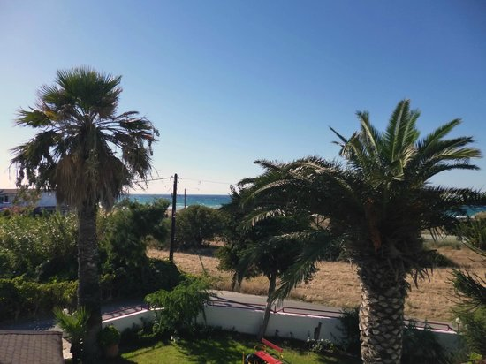 Asterias Hotel: View of Sea from Room