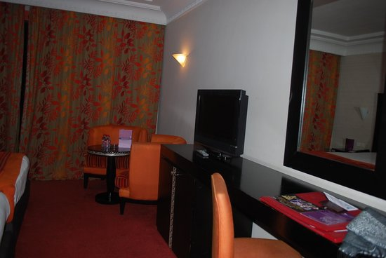 Palm Plaza Marrakech Hotel & Spa: 客室。