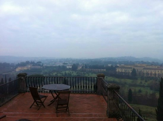 Villa Poggio San Felice: Megical veiw from the suite
