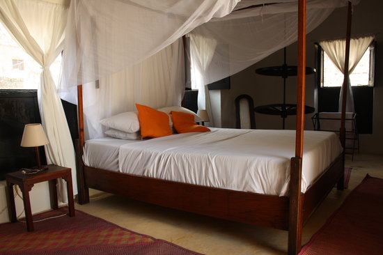 Baitul Noor House - Lamu Backpackers: A double room