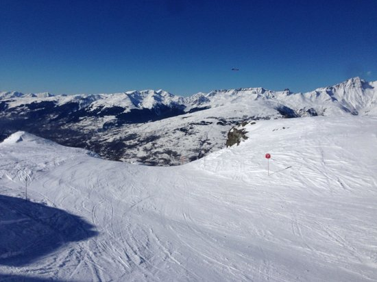 Hotel L'Aiguille Grive: Hotel skis aux pieds aux Arcs 1800, il y en a pas d'autres!!