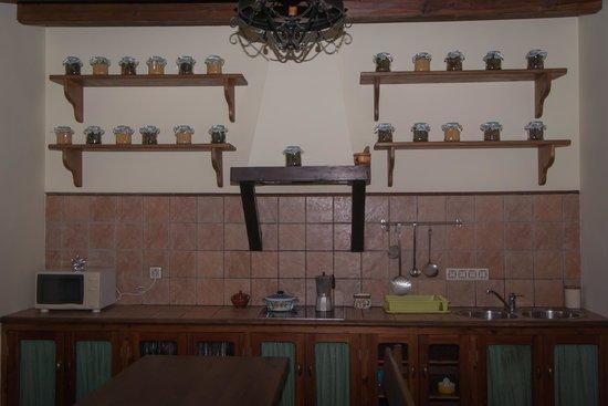 Casa Rural La Brecera: cocina